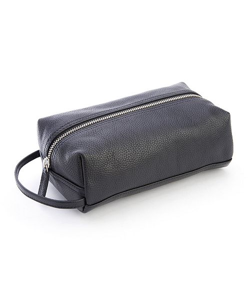 Royce Leather Royce New York Compact Toiletry Bag