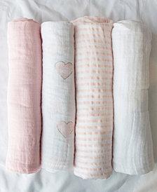 Lolli Living 4 Pack Swaddle Blanket