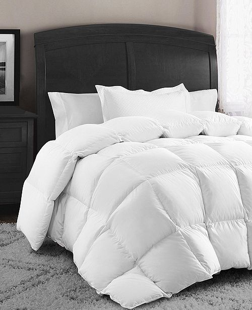 Swiss Comforts Down and Feather Cotton King Comforter
