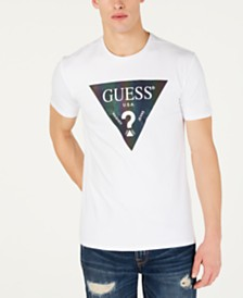 GUESS Men's Color Shades Logo T-Shirt