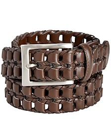 Perry Ellis Men's Link-Braid Belt