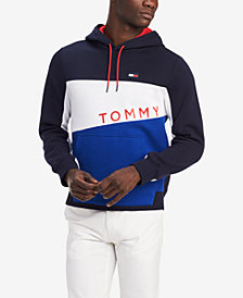 Tommy Hilfiger Men's Colorblocked Graphic Hoodie, Created for Macy's
