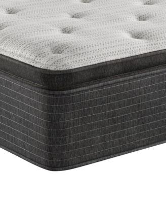 "BRS900-TSS 14.75"" Plush Pillow Top Mattress - Twin, Created For Macy's"