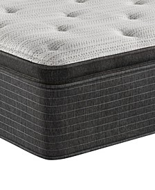 "BRS900-TSS 14.75"" Plush Pillow Top Mattress - California King, Created For Macy's"