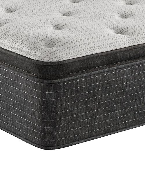 "Beautyrest BRS900-TSS 14.75"" Plush Pillow Top Mattress - Full, Created For Macy's"
