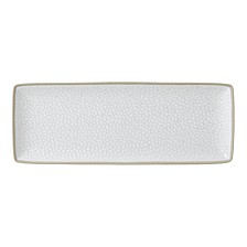 Royal Doulton Exclusively for Maze Grill Hammer White Serving Platter