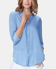 NYDJ Classic Long-Sleeve Shirt