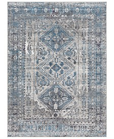 "Surya MNC-2312 Light Gray 9'3"" x 12' Area Rug"