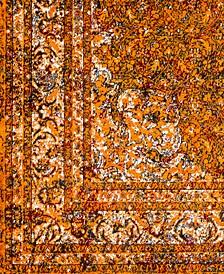 """Mumbai MUM-2304 Saffron 18"""" Square Swatch"""