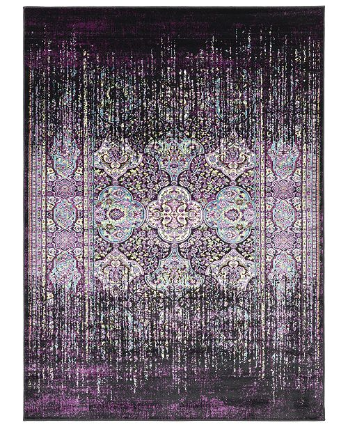 Surya Mumbai MUM-2308 Dark Purple 2' x 3' Area Rug