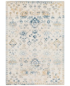 Notting Hill NHL-2307 Teal 2' x 3' Area Rug