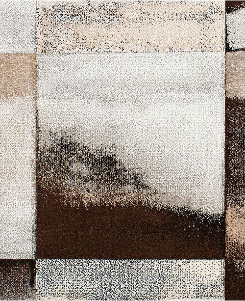 "Surya Santa Monica SAC-2312 Dark Brown 18"" Square Swatch"