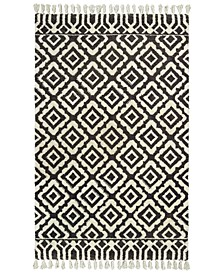 "Madison 61406 Ivory/Brown 2'6"" x 8' Runner Area Rug"