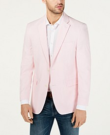 Men's Modern-Fit Chambray Sport Coat