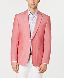 Men's Modern-Fit Chambray Sport Coat
