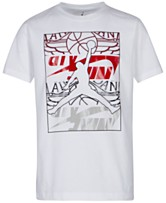 460a585064bd Jordan Big Boys Jumpman-Print Cotton T-Shirt