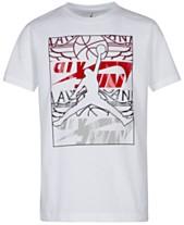 super popular 61d77 c790e Jordan Big Boys Jumpman-Print Cotton T-Shirt
