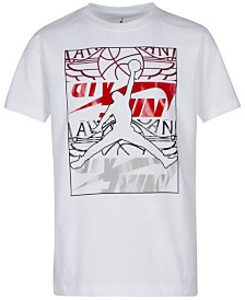 Jordan Toddler Boys Graphic-Print Cotton T-Shirt