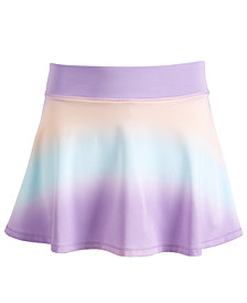 Ideology Big Girls Ombré-Print Skort, Created for Macy's
