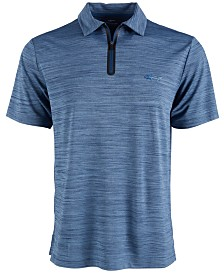 Attack Life by Greg Norman Men's Quarter-Zip Polo