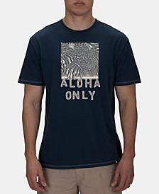 Men's Lightweight Aloha Only Graphic T-Shirt