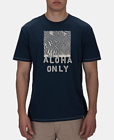 Hurley Men's Lightweight Aloha Only Graphic T-Shirt