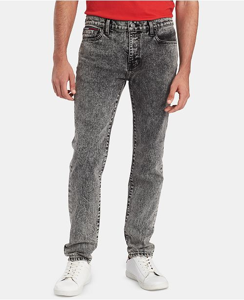 Tommy Hilfiger Men's Slim-Fit Dusted Alexi Jeans, Created for Macy's
