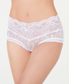 Hanky Panky Women's American Beauty Flower Lace Brief 1C2381