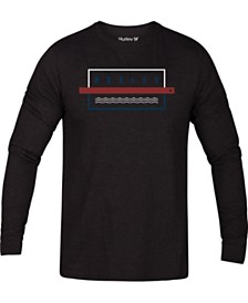 Hurley Men's Graphic Long-Sleeve T-Shirt