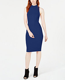 Bar III Zip-Back Sweater Dress, Created for Macy's