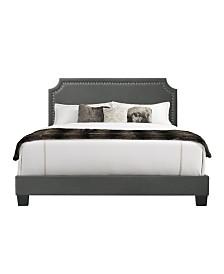 Regal Upholstered King Bed