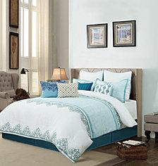 Angela 10 Piece Comforter Set Queen