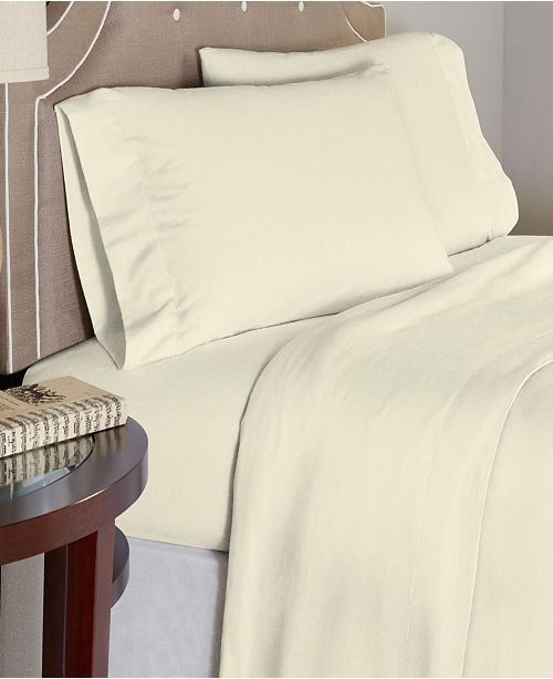Celeste Home Luxury Weight Cotton Flannel Sheet Set