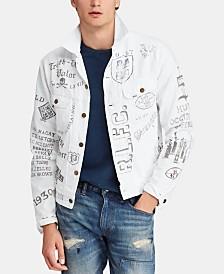 Polo Ralph Lauren Men's Big & Tall Denim Cotton Trucker Jacket