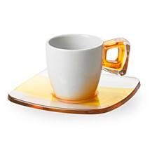 Lorren Home Trends Omada-Italy 6 Piece Espresso Set