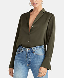 RACHEL Rachel Roy Flo Button Down Blouse, Created for Macy's