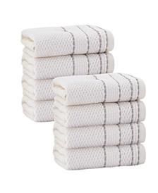 Monroe 8-Pc. Wash Towels Turkish Cotton Towel Set