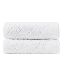 Gracious 2-Pc. Bath Sheets Turkish Cotton Towel Set