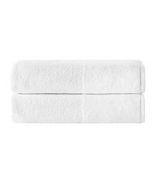 Incanto 2-Pc. Bath Sheets Turkish Towel Set