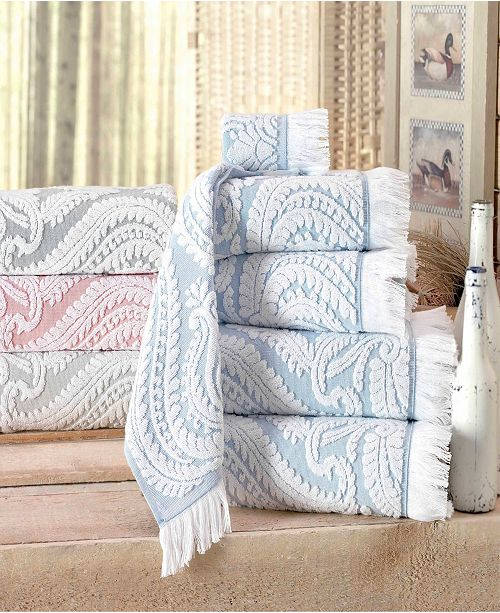 Enchante Home Laina Turkish Cotton Bath Towel Collection