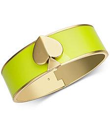 kate spade new york Enamel Spade Bangle Bracelet