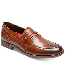 Rockport Men's Double Gore Penny Loafers