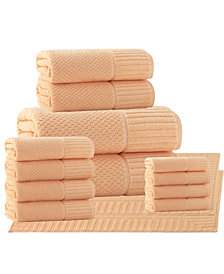 Enchante Home Timaru 2-Pc. Bath Sheets Turkish Cotton Towel Set