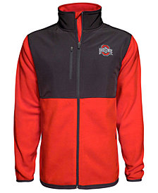 J America Men's Ohio State Buckeyes Rainier Microfleece Jacket