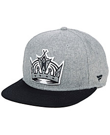 Authentic NHL Headwear Los Angeles Kings Heavy Heather Emblem Snapback Cap