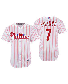 Majestic Men's Maikel Franco Philadelphia Phillies Player Replica Cool Base Jersey