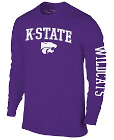 Colosseum Men's Kansas State Wildcats Midsize Slogan Long Sleeve T-Shirt