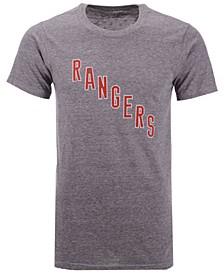 Men's New York Rangers Tri-Blend Team Logo T-Shirt
