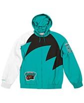 Mitchell   Ness Men s Vancouver Grizzlies Shark Tooth Jacket 215eceea223