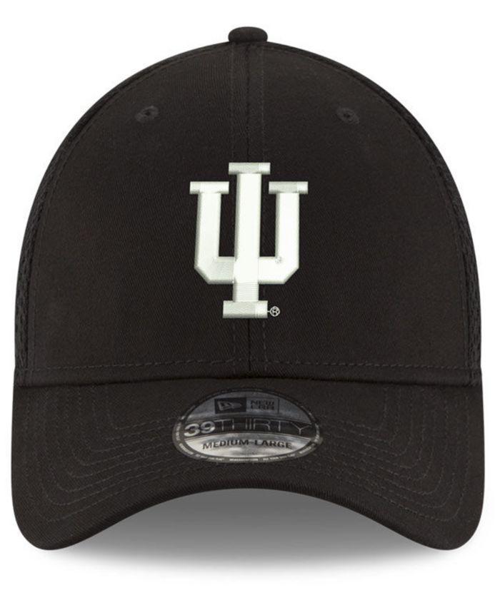 New Era Indiana Hoosiers Black White Neo 39THIRTY Cap & Reviews - Sports Fan Shop By Lids - Men - Macy's